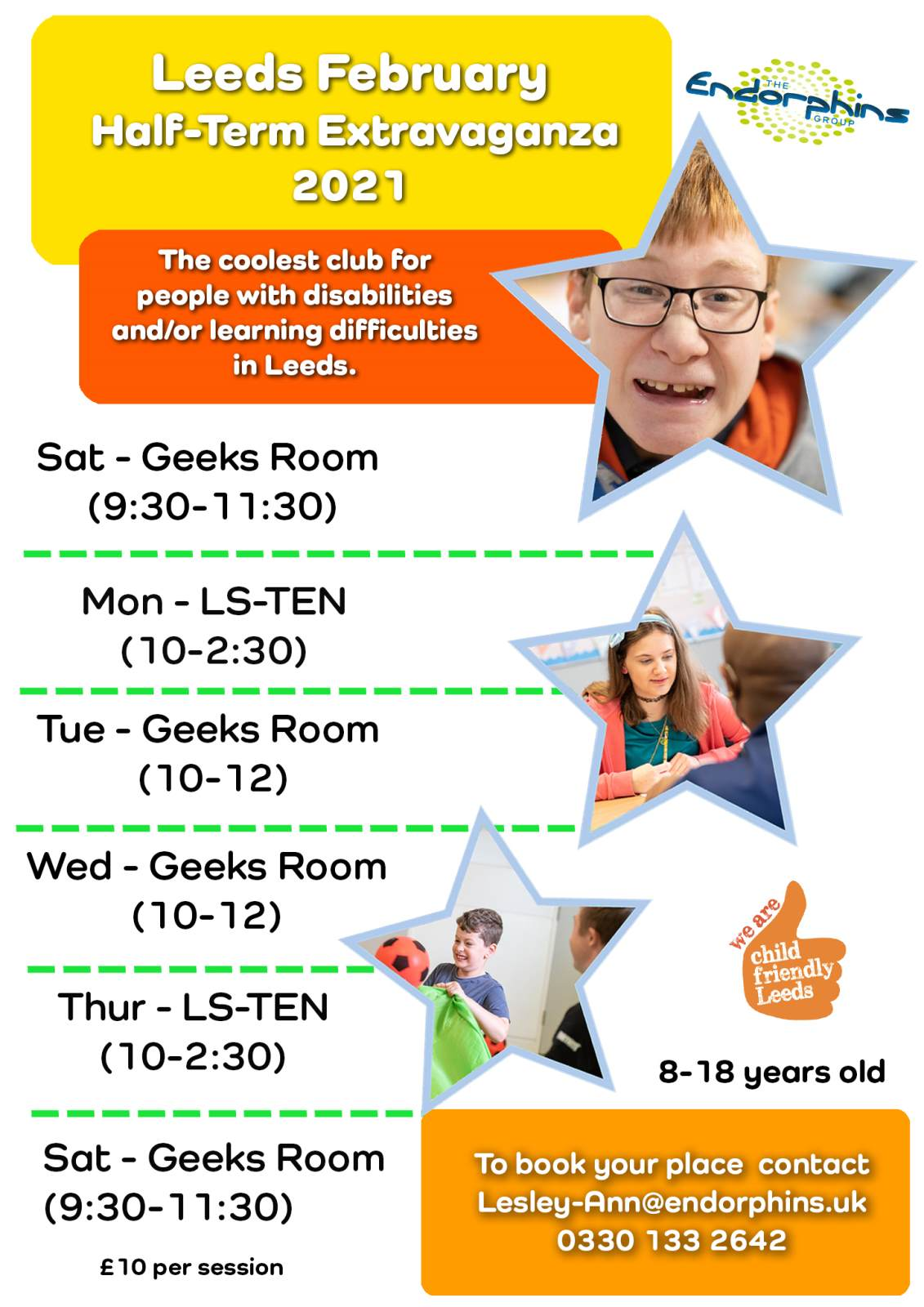 Leeds Feb Half Term Activities