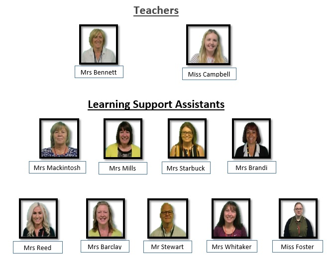 All staff based at the Secondary Partnership