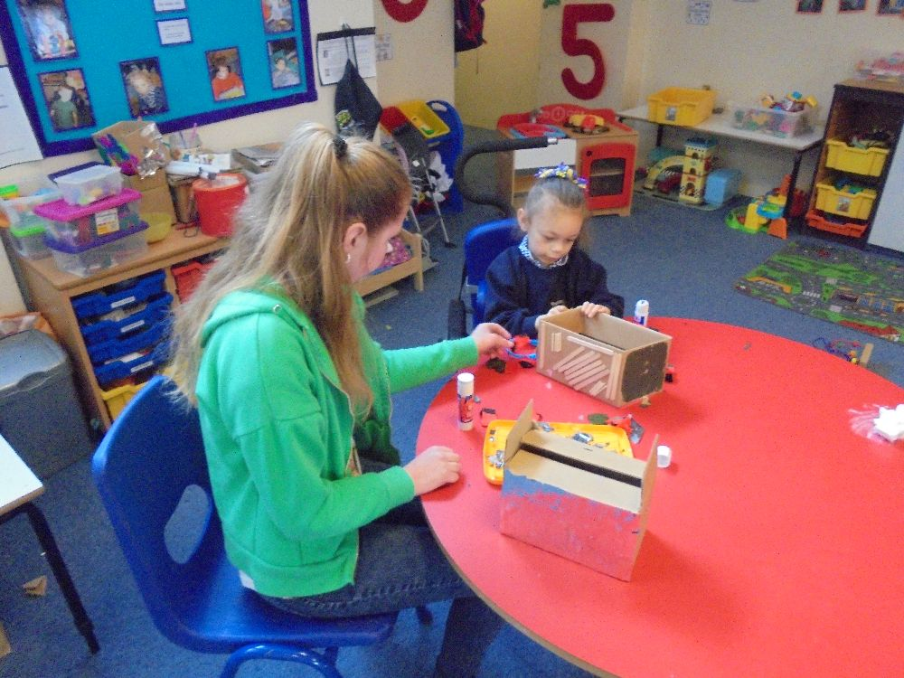 Work Experience in the Primary Department