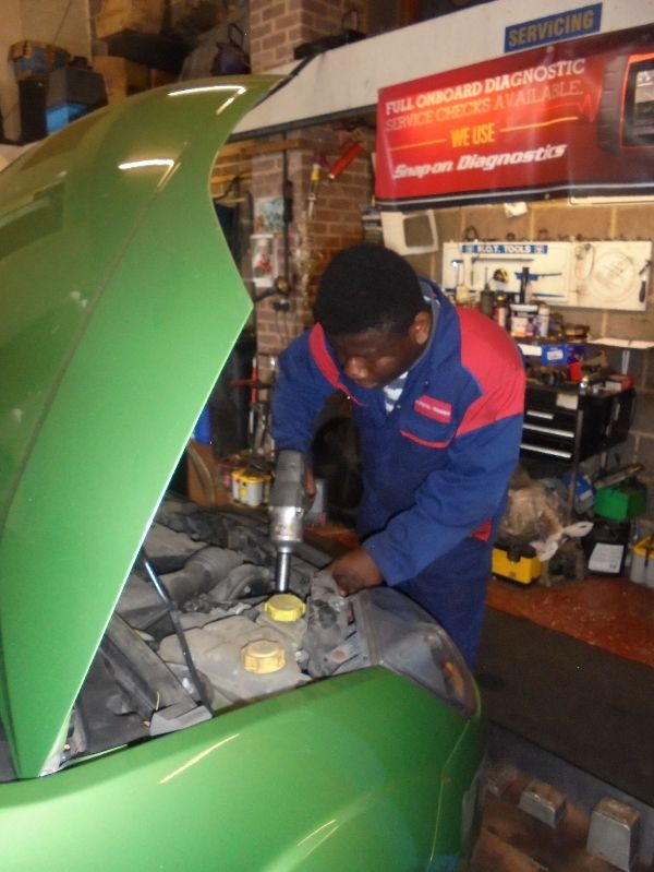Work Experience at Automo-Beales