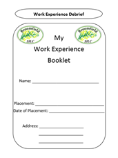 Work Experience Booklet